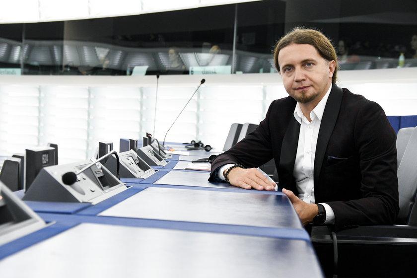 Europoseł Łukasz Kohut