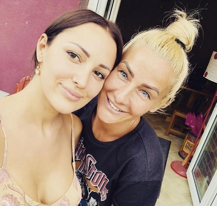 Aleksandra Prijović i Milica Dabović
