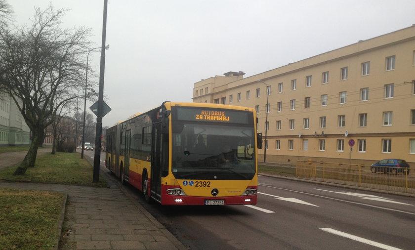 Awaria sieci tramwajowej w Łodzi
