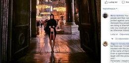 Pozowała nago w Watykanie. Gorszą rzecz zrobiła w Turcji