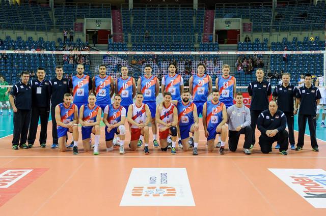 Odbojkaška reprezentacija Srbije u Krakovu