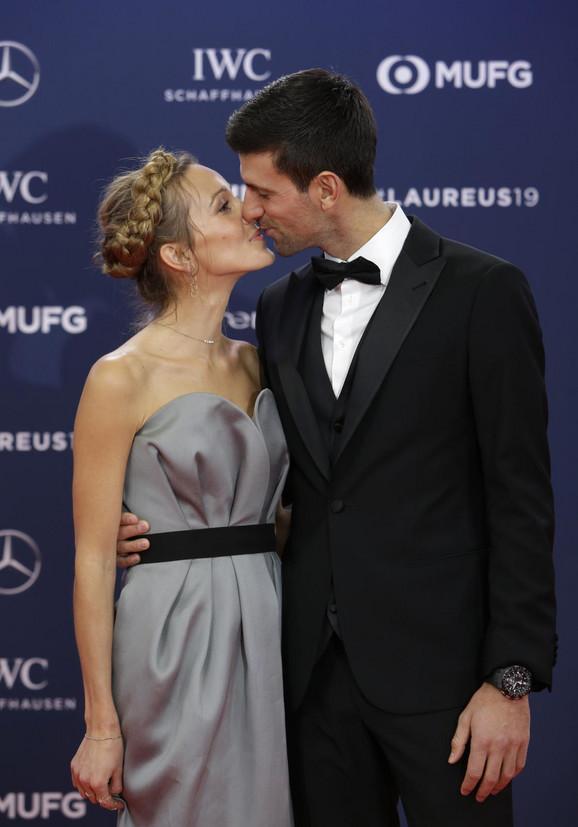 Novak Đoković i Jelena Đoković