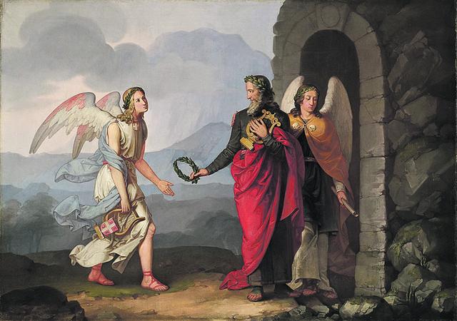 Apoteoza Lukijana Mušickog, 1840.