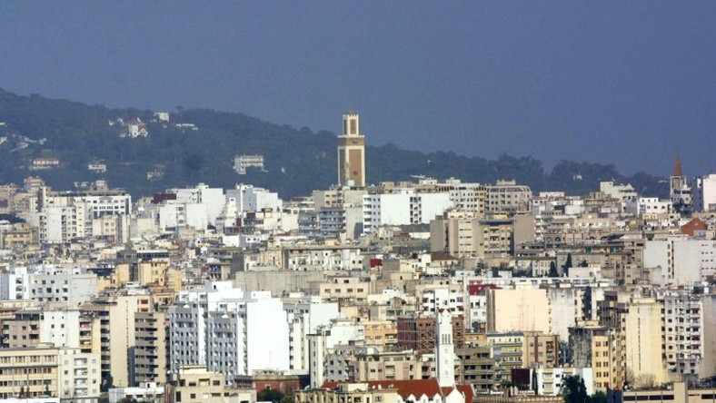 Morocco police arrested eight men with alleged ties to the Islamic State group active in Fez and Tangiers, seen in 2004