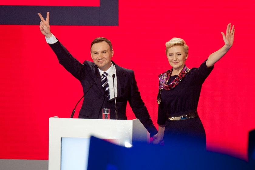 Agata Duda w kampanii męża