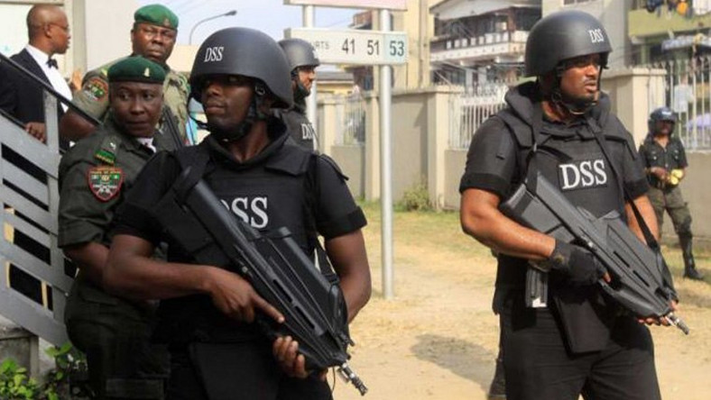 Department of Security Service(DSS) operatives.