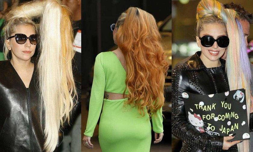Fryzury Lady Gagi 2012