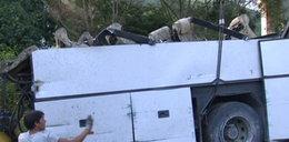 Sprzątanie po wypadku we Włoszech