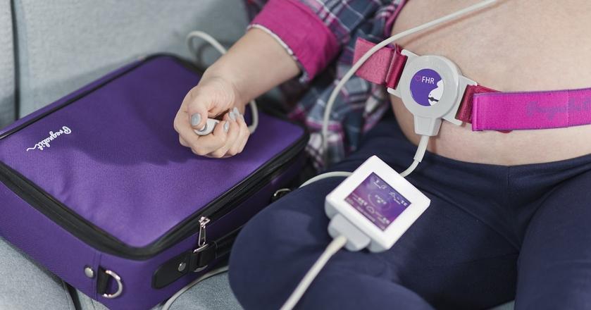 Urządzenie Pregnabit umożliwia samodzielne przeprowadzenie badań kontrolnych w ostatnim trymestrze ciąży