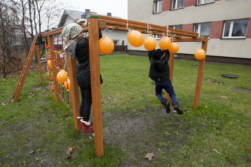 Nowy plac zabaw w Chorzowie
