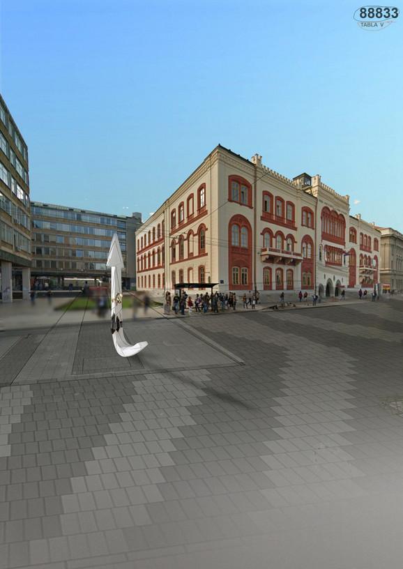 Ovako će izgledati Đinđićev spomenik na Studenstkom trgu