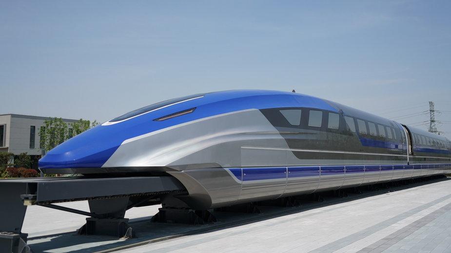 Chiński pociąg Maglev - prototyp