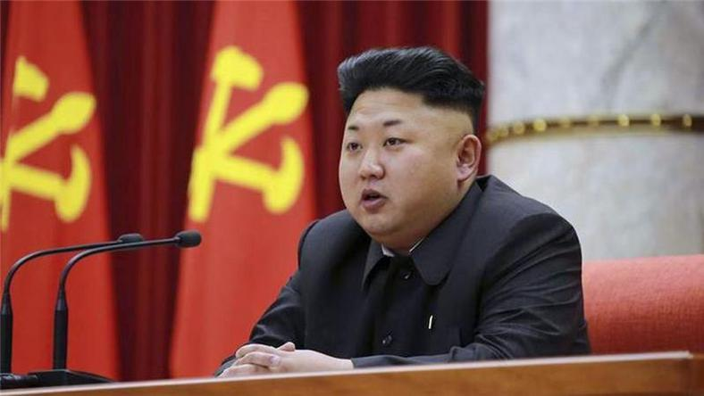 The Supreme leader of North Korea - Kim Jong-un.