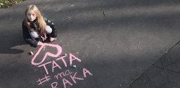 Wzruszający apel siedmiolatki z Krakowa. Prosi o pomoc dla chorego taty