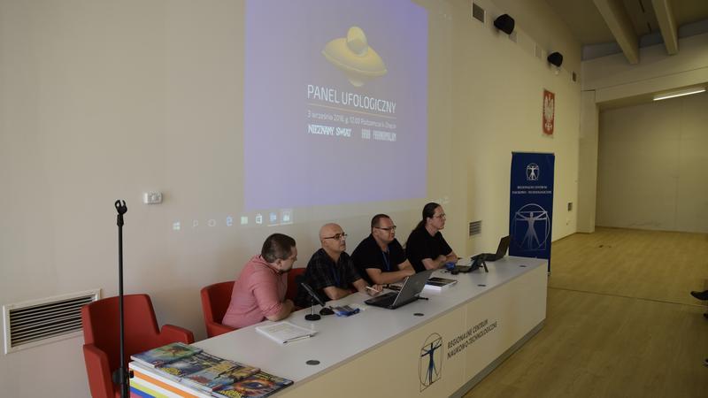 Pierwsza od lat konferencja ufologiczna odbyła się w Podzamczu