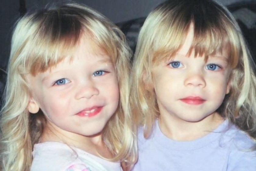 Siostrzyczki bliźniaczki