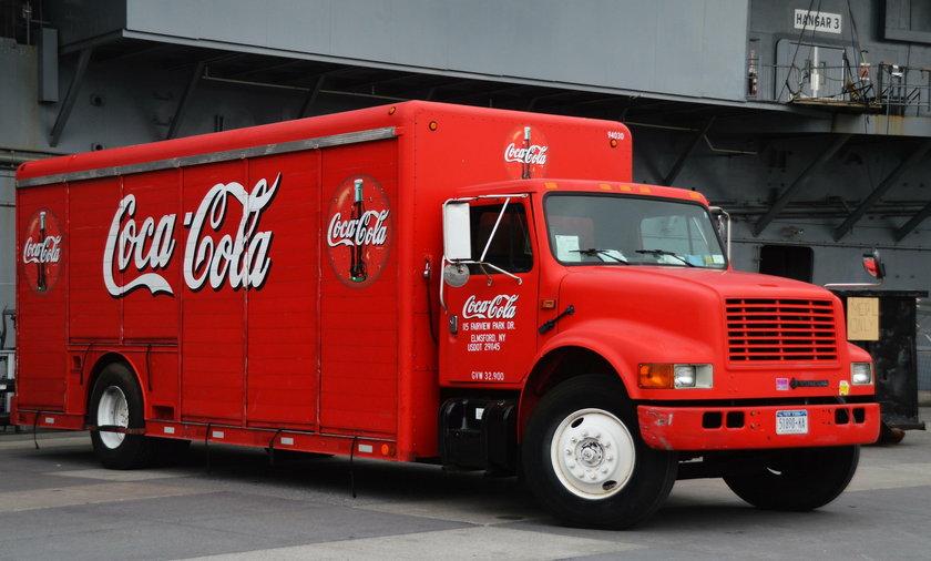ciężarówka Coca Cola