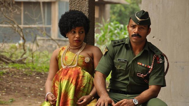 "Rita Dominic and Ramsey Nouah in ""76"""