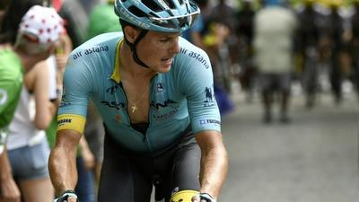 Aru team-mate Fuglsang quits Tour de France