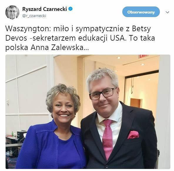 Wpis Ryszarda Czarneckiego