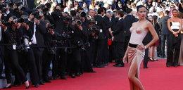 Seksowna Adriana Lima w Cannes
