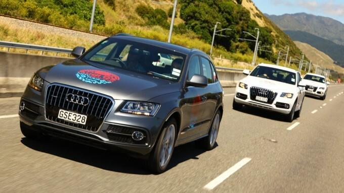 Audi Q5 w krainie hobbitów