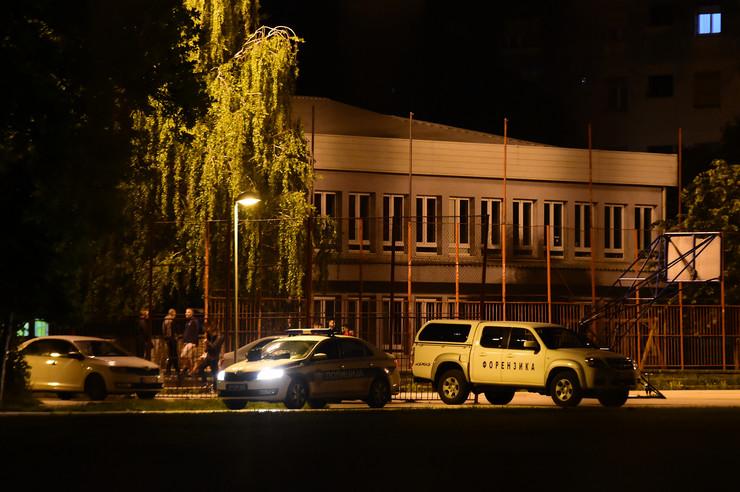Novi Sad95uvidjaj policije ubistvo u skoli Svetozar Markovic Toza foto Nenad Mihajlovic