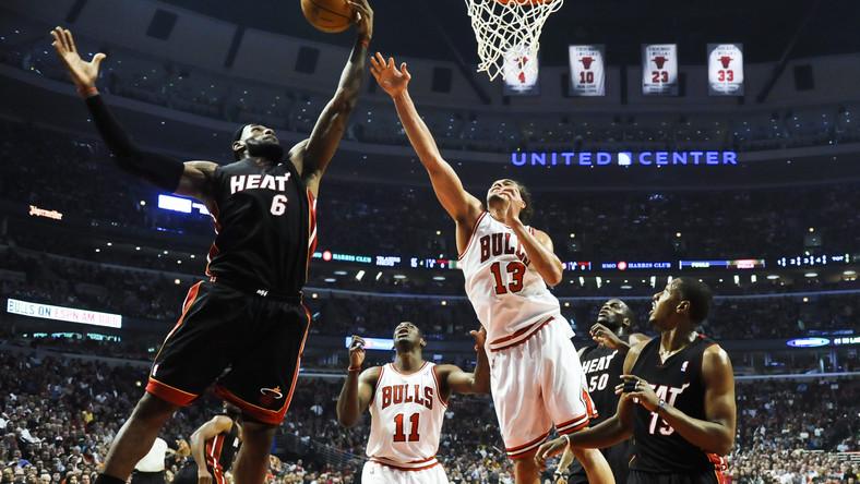 Bulls wygrali z Heat