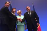 Kvadrilaterala Solun Aleksandar Vučić Aleksis Cipras Bojko Borisov Vjorika Danćila rukovanje Promo