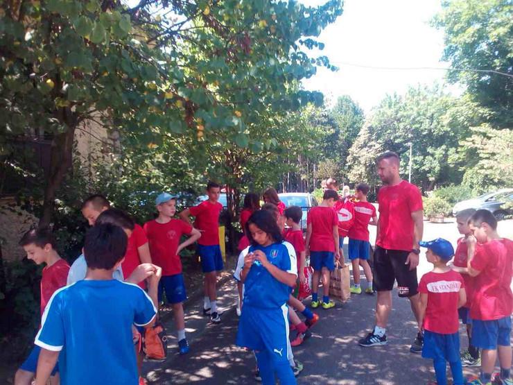 turnir u fudbalu deca iz Zvečanske