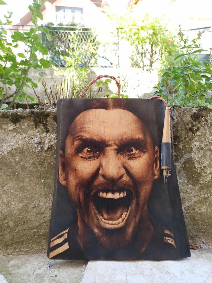 Potom je umetnik iz Užica uradio i drugi portret