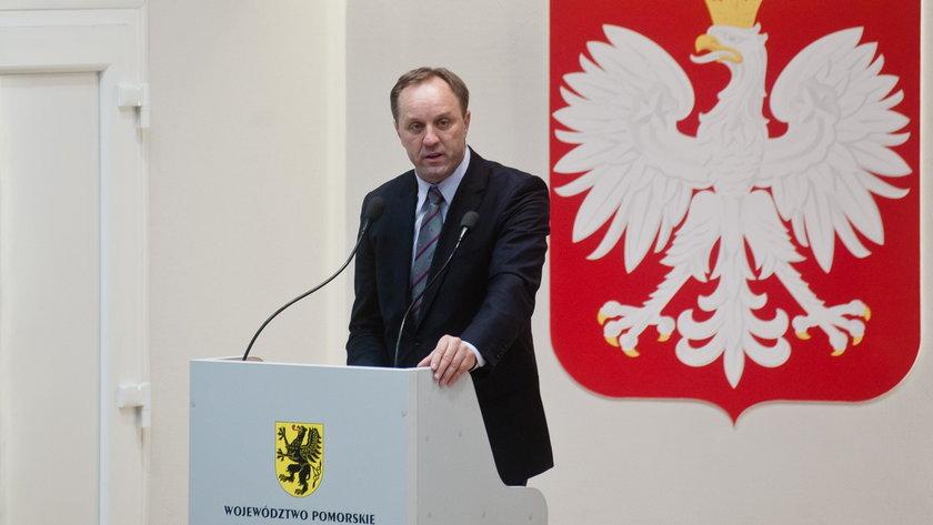 Marszałek województwa pomorskiego Mieczysław Struk.