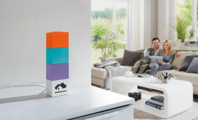 Hörmann homee Brain Cube može da se postavi bilo gde u kući