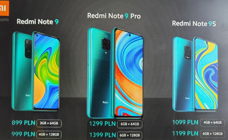 Seria Redmi Note 9