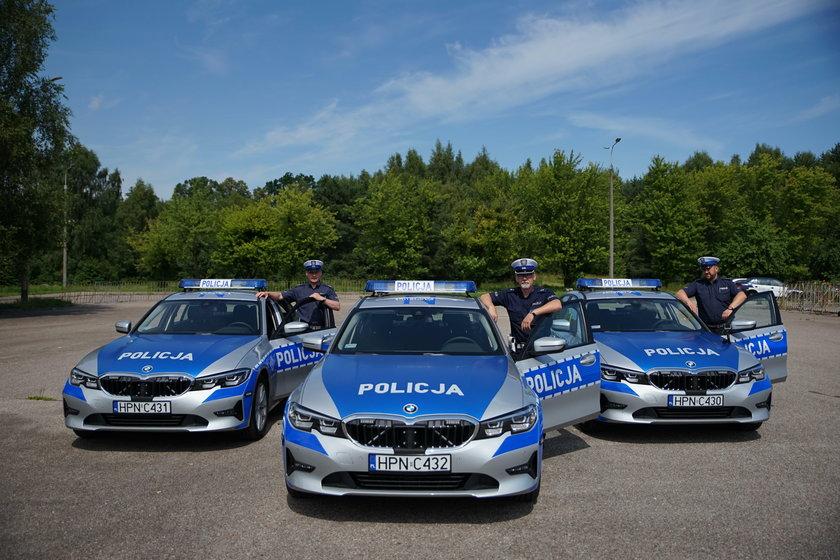 Oto nowe samochody drogówki