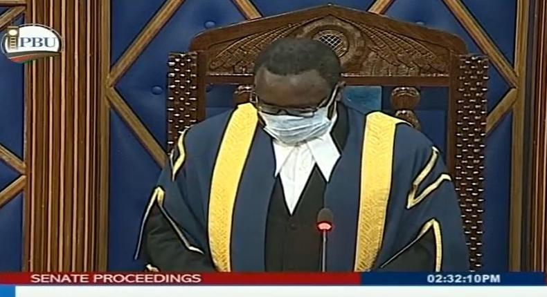 Kenyan Senators leave nothing to chance during emergency sitting on corona virus