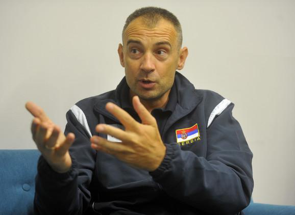 Trener naših odbojkaša Nikola Grbić