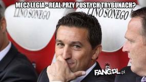 UEFA ukarała Legię, internauci komentują. Zobaczcie memy