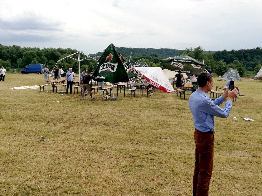 Ostrów: Święto Pieroga odwołane. Zawaliła się scena