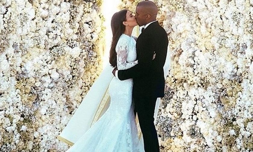 Zdjęcie Kim Karadashian i Kany'ego Westa bije rekordy popularności na Instagramie