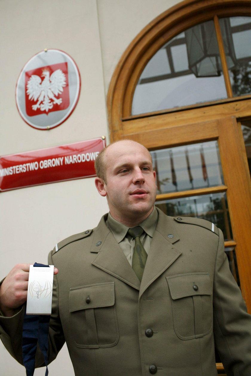 Małachowski doceniony przez wojsko