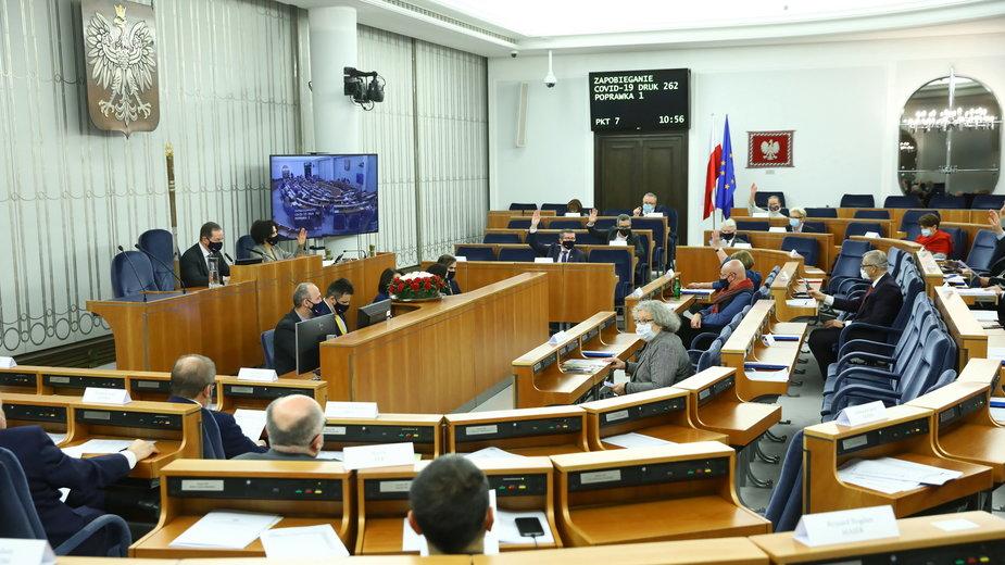 Sobotnie posiedzenie Senatu