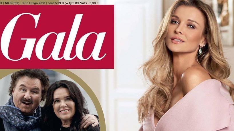"""Joanna Krupa na okładce magazynu """"Gala"""""""