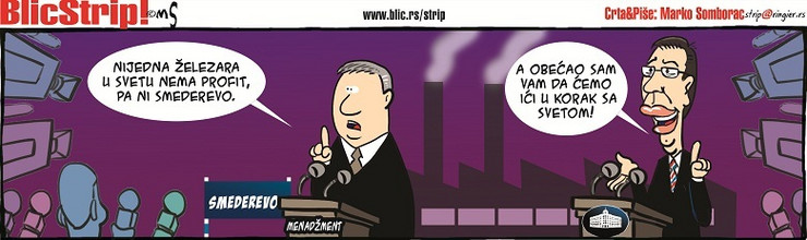 Blic Strip za 9. februar 2016.