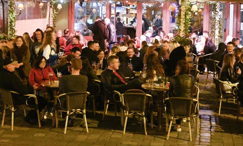 Oblężenie ogródków gastronomicznych we Wrocławiu