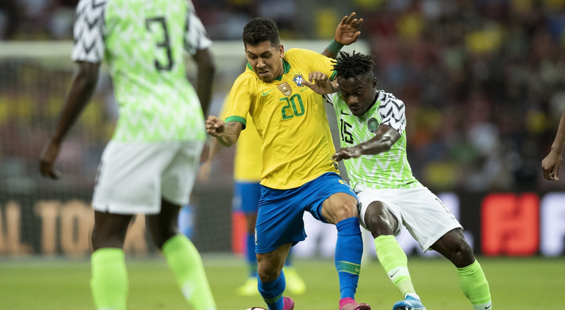 Nigeria 1 Vs 1 Brazil: Super Eagles impress Twitter Nigeria