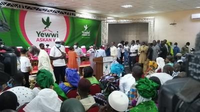 """""""Yewwi Askan Wi"""": la Grande Coalition de l'opposition voit le jour"""