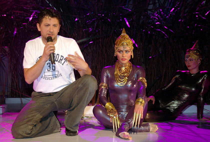 Janusz Józefowicz i Natasza Urbańska na scenie
