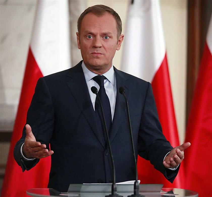 Tusk już nie chce być premierem?