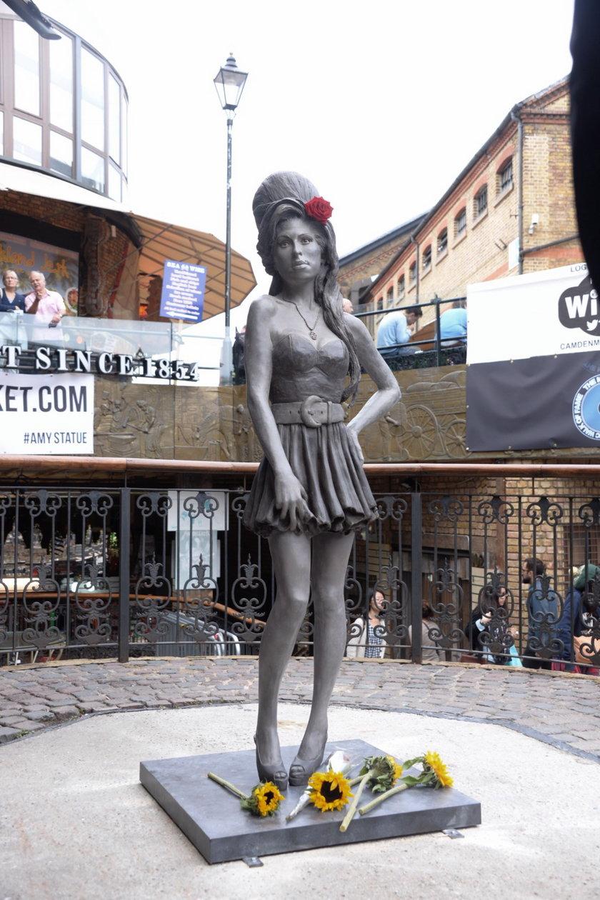 Nowy pomnik Amy Winehouse w Londynie